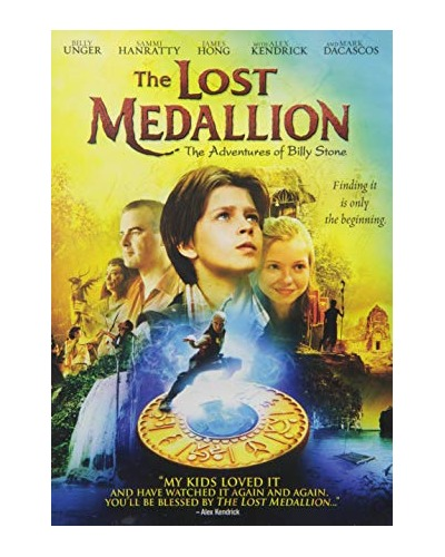 DVD The Lost medallion