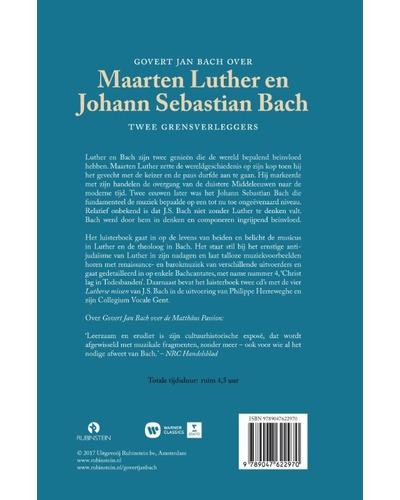 Maarten Luther en Johan Sebastian Bach+4CD