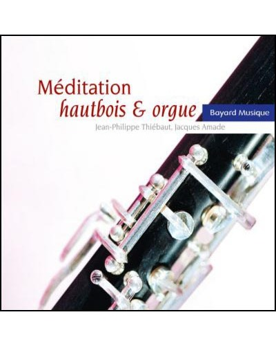 CD Méditation hautbois & orgue
