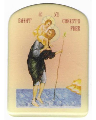 Minsk - Sticker Sint-Christoffel