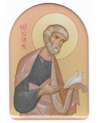 Minsk - Sticker Sint Jozef met duiven